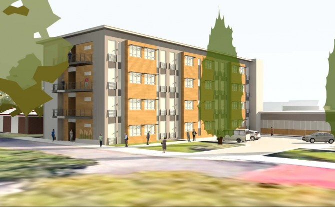 Chapel Court Apartments at St Johns United Image